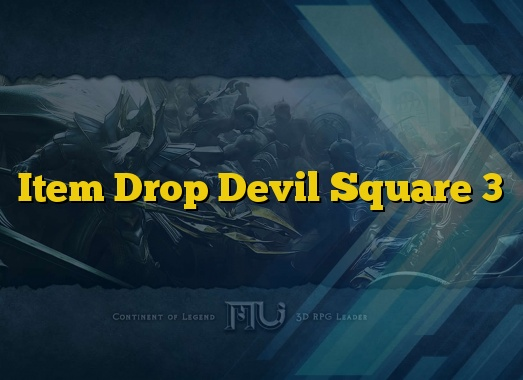 Item Drop Devil Square 3